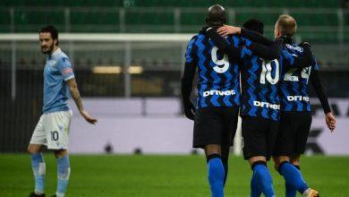 إنتر يهزم لاتسيو وينتزع صدارة الدوري الإيطالي