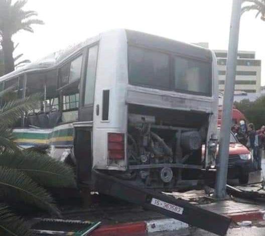 الجامعة العامة للنقل تنفي خبر وقوع قتلى في حادث شارع محمد الخامس |
