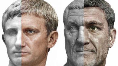 الذكاء الاصطناعي يعيد الحياة إلى أباطرة الرومان
