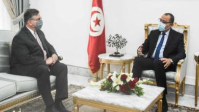 السفير الأمريكي يؤكد دعم بلاده لتونس في مفاوضاتها مع صندوق النقد الدولي |
