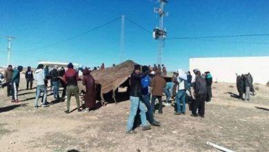 القصرين: محتجون يعتصمون أمام محطة ضخ الغاز لشركة «سرغاز» |