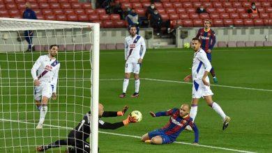 برشلونة يسقط في فخ التعادل أمام إيبار