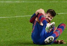 برشلونة يعلن عن إصابة بيكيه في الركبة