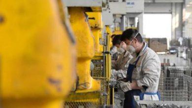 تحسن نمو نشاط قطاع التصنيع الصيني الشهر الحالي