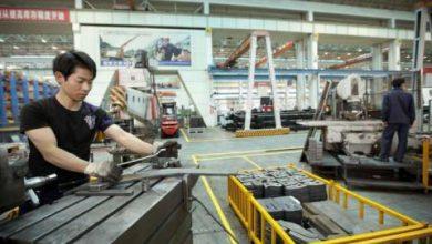 تراجع نشاط قطاع التصنيع في الصين خلال الشهر الحالي