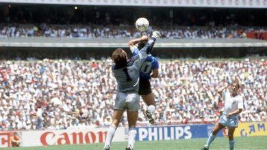 حارس إنجلترا: لطالما رغبت أن يعتذر مارادونا عن هدفه