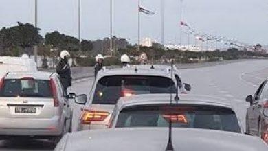 حملة ميدانية للتوعية بقواعد السلامة المرورية في يوم عيد الفطر  