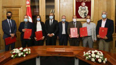 رئاسة الحكومة:امضاء اتفاقية تسوية وضعية 31 ألف عون حضائر |