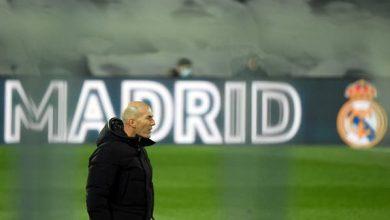 """زيدان يعترف: الانتقادات الموجهة إلى ريال مدريد """"موجعة"""""""