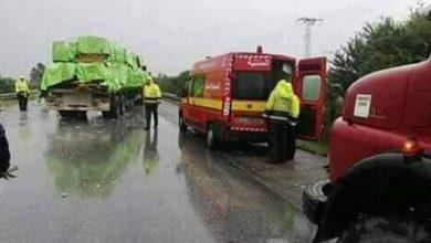 سوسة.. وفاة شخصان في اصطدام بين سيارة و شاحنة ثقيلة |