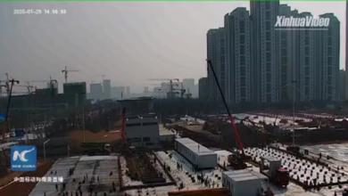 عود على بدء.. الصين تبني مستشفى بـ5 أيام مع زيادة إصابات كورونا