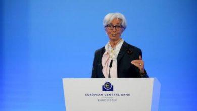 لاغارد: الاقتصاد يسير على عكازات بسبب «كورونا»