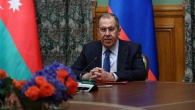 لافروف: نعارض الدعم العسكري التركي لأذربيجان ضد أرمينيا