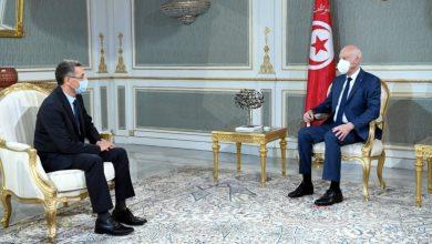 لقاء بين رئيس الجمهورية و وزير الداخلية |