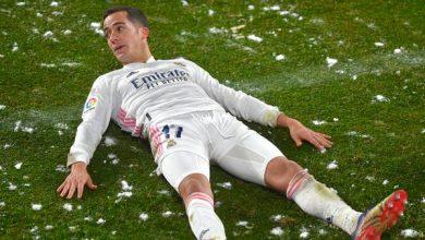 لوكاس فاسكيز يرفض الاستمرار مع ريال مدريد