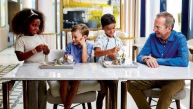 «مجموعة جميرا» تقدم قائمة طعام مخصصة للأطفال لترتقي بتجارب العطلات العائلية
