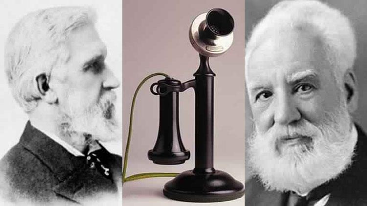 ORG XMIT: 592801_0.tif O cientista Alexander Graham Bell, inventor do  telefone.
