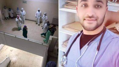 من هو شهيد الواجب الطبيب بدر الدين علوي الذي توفي ليلة امس في حادث المصعد ؟ |