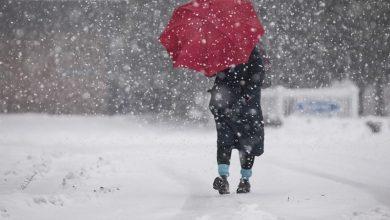 نهاية الاسبوع… طقس بارد مع إمكانية تساقط الثلوج بهذه المناطق |
