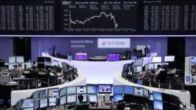 هبوط مؤشر الأسهم الأوروبية بضغط من أسعار السلع الأولية